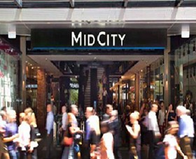MidCity Centre Logo and Images