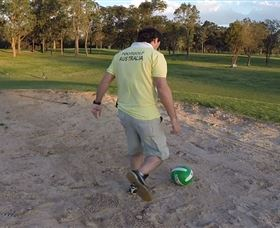 Footgolf Werrington Logo and Images