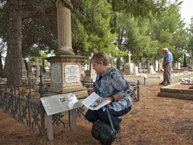 Stories of the Everyday Interpretive Trail - West Terrace Cemetery Image
