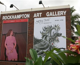 Rockhampton Art Gallery Logo and Images