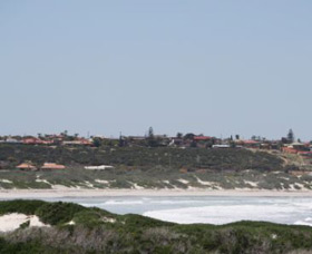 Back Beach - Geraldton Logo and Images