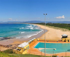 Port Kembla Beach Logo and Images