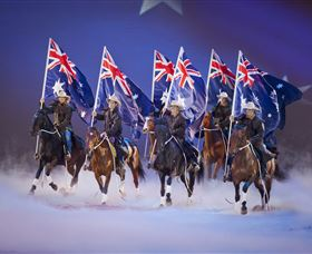Australian Outback Spectacular: High Country Legends Logo and Images