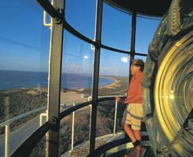 Vlamingh Head Lighthouse Scenic Drive Logo and Images
