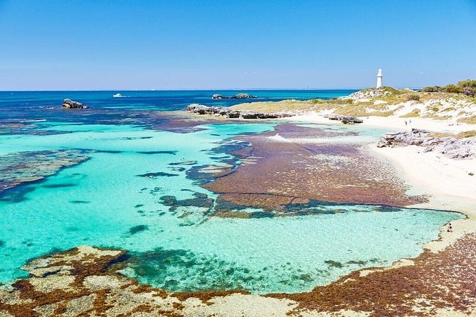 Fremantle to Rottnest Island Roundtrip Ferry Ticket Logo and Images