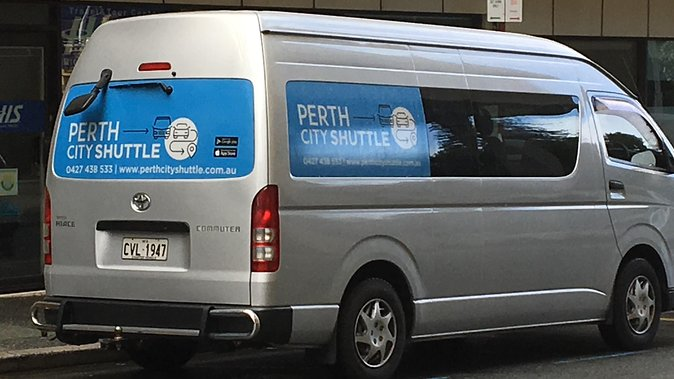 2 Passenger Shared Arrival Transfer - Perth Airport to Perth City Hotel Logo and Images