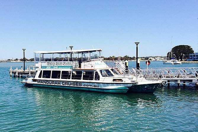 Half-Day Mandurah Canals & Dolphin Watch Tour Logo and Images