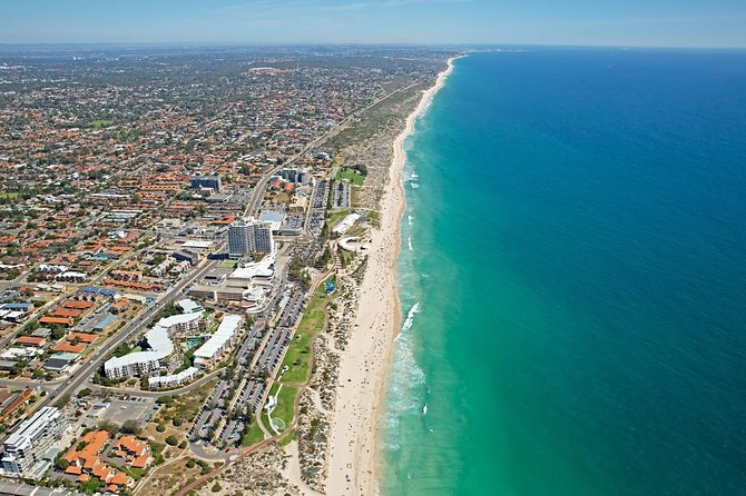 Perth Scenic Flight - City River and Beaches Logo and Images