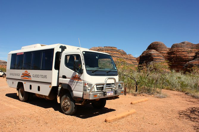 Bungle Bungle Flight, Domes & Cathedral Gorge Guided Walk from Kununurra Logo and Images