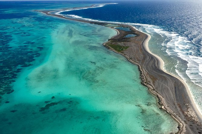 Abrolhos Islands Fixed-Wing Scenic Flight from Geraldton Logo and Images