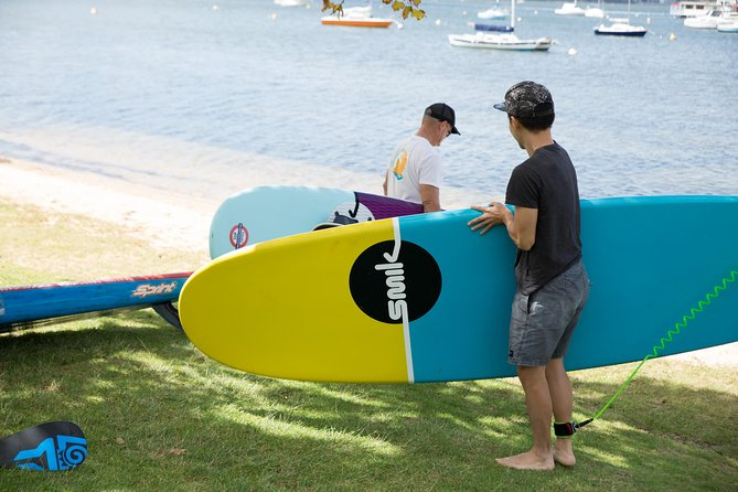 Stand Up Paddle Boarding - 2 Person Lesson - 1 Hour Logo and Images