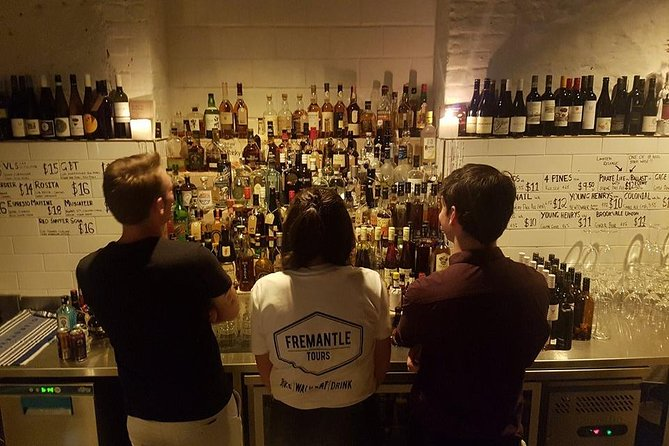 Go where the locals go on our Fremantle bar tour, 4 venues with drinks included Logo and Images