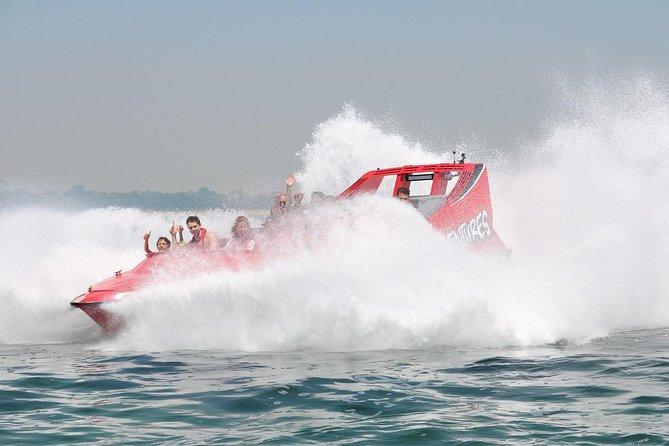 Dunsborough 30-Minute Jet Boat Ride Logo and Images