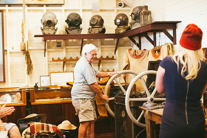 1.5-Hour Historical Pearl Luggers Tour in Broome Logo and Images