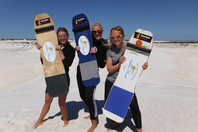 Full-Day Pinnacles Sandboarding and Yanchep National Park from Perth Logo and Images