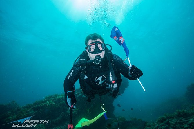 Rottnest Island scuba diving from Fremantle Logo and Images
