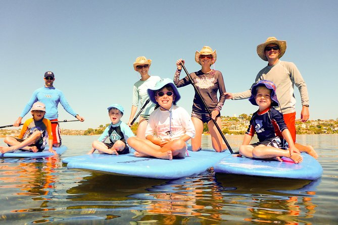 Stand-Up Paddleboarding Lesson plus Guided Paddle on Perth's Swan River Logo and Images