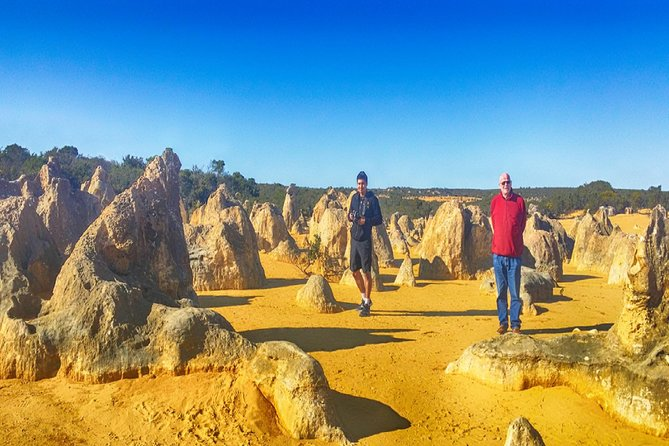 Pinnacles Day Trip Including Yanchep, Cave, Cervantes and Scarborough Beach Logo and Images