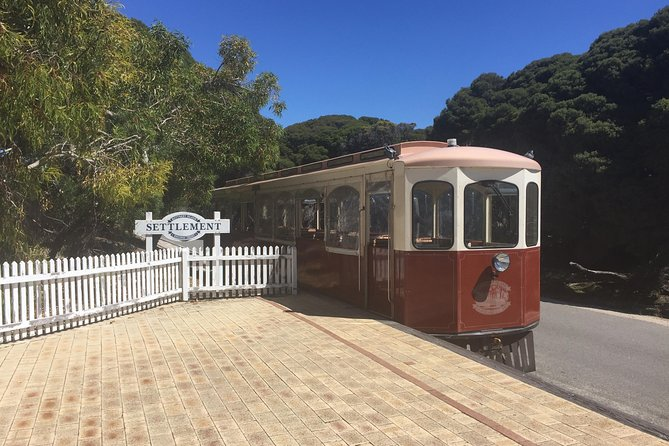 Rottnest Island Oliver Hill Train and Tunnel Day Trip from Perth Logo and Images