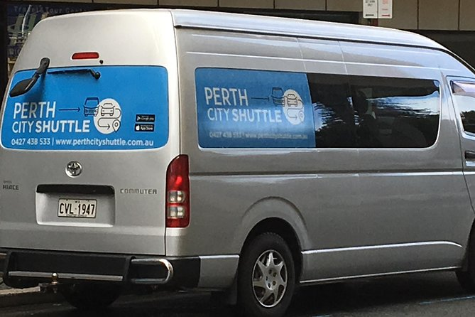 2 Passengers Shared Departure Transfer Service - Perth City Hotel to Airport Logo and Images