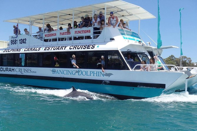 Mandurah Dolphin and Scenic Canal Cruise Logo and Images