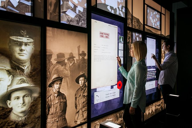 National Anzac Centre General Entry Ticket Logo and Images