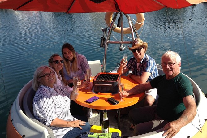 Self-Drive BBQ Boat Hire Perth for group of 3-6 people Logo and Images