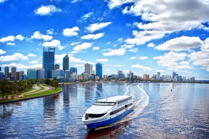 Fremantle Craft Beer Tour and Swan River Sightseeing Cruise from Perth Logo and Images