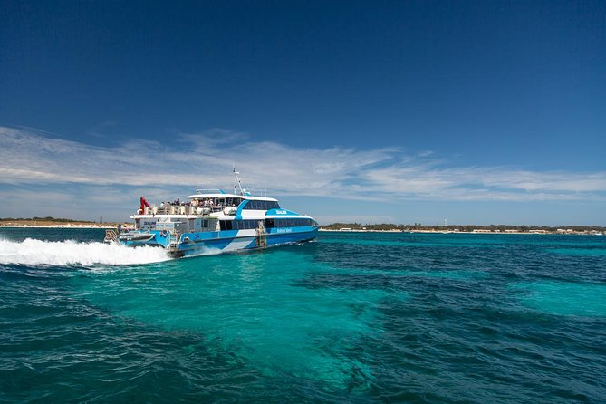 Rottnest Island Oliver Hill Train and Tunnel Day Trip from Fremantle Logo and Images