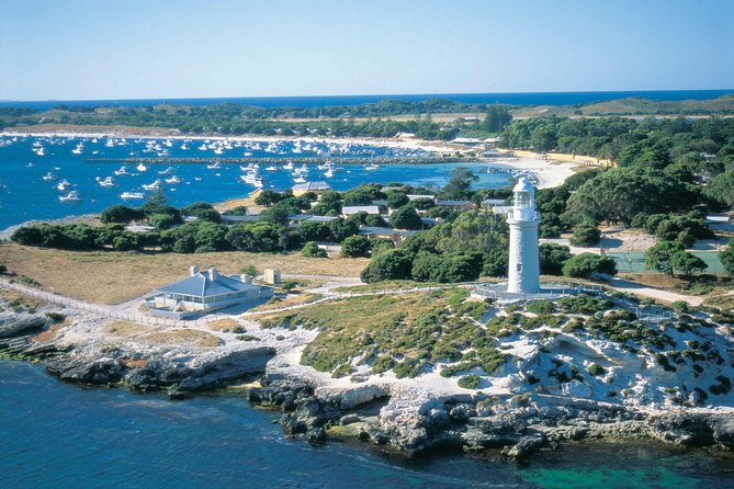Direct Flights Swan River to Rottnest Island Return Package Logo and Images