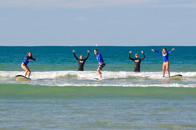 Learn to Surf at Surfers Paradise on the Gold Coast Logo and Images
