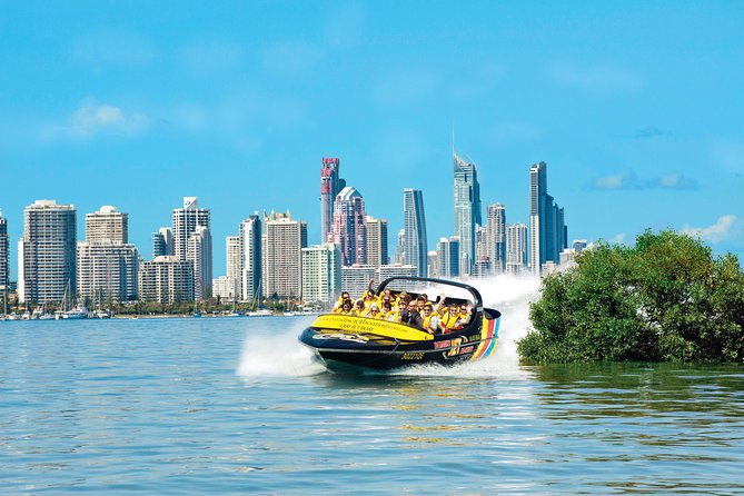 Jet Boat Ride - Surfers Paradise Departure Logo and Images