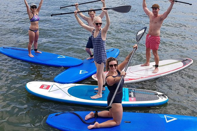 Noosa Stand Up Paddle Group Lesson Logo and Images
