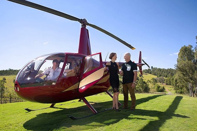 Australian Country Wine Tour in a chopper Logo and Images