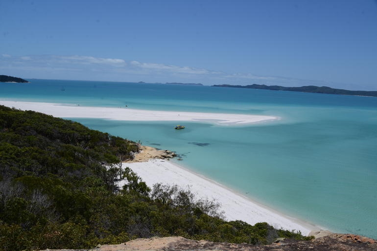 Whitehaven Beach Cruise Including Hill Inlet Walk Logo and Images