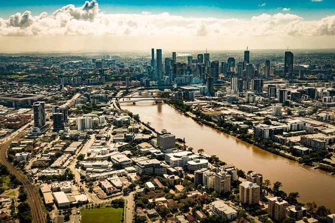 Private Helicopter Scenic Tour of Brisbane - 20min Logo and Images
