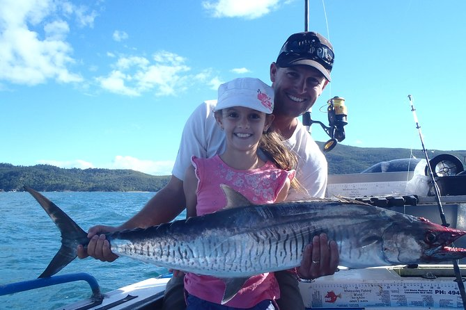 Whitsunday Islands and Great Barrier Reef Fishing Charters Logo and Images