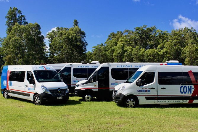Brisbane Airport Shuttle Transfer to Toowoomba (Transit Stops) Round trip Logo and Images