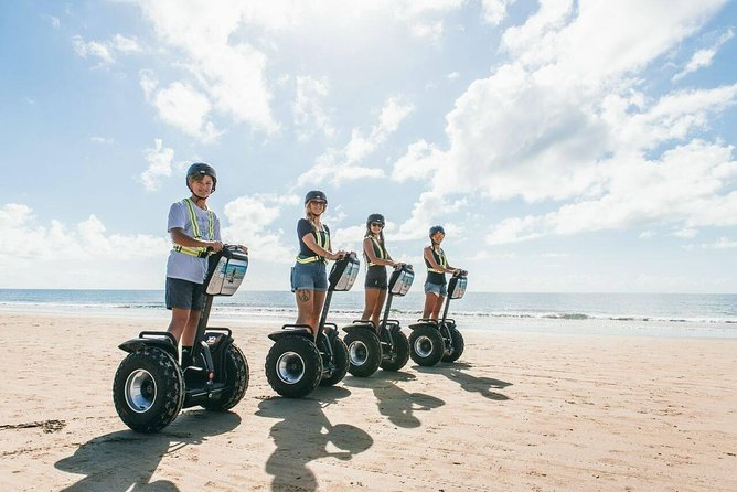 Guided Eco Segway Tours Four Mile Beach Port Douglas Logo and Images