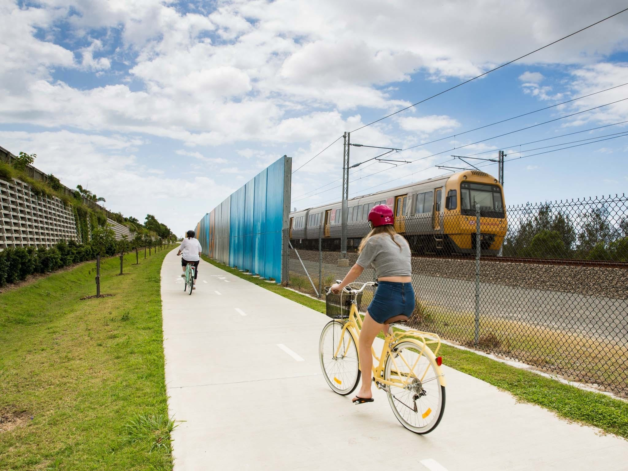 Petrie to Kippa-Ring Shared Pathway Logo and Images
