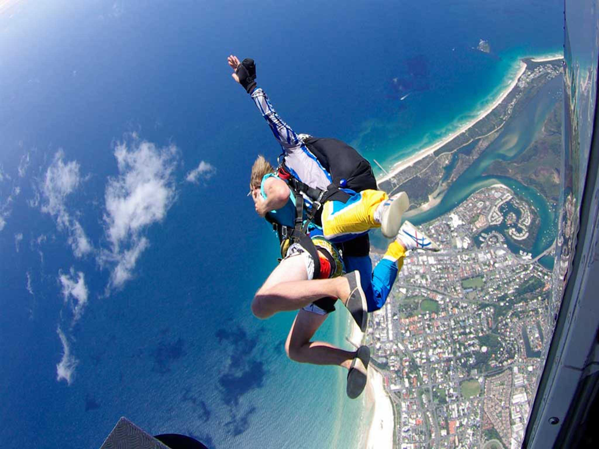 Gold Coast Skydive Logo and Images