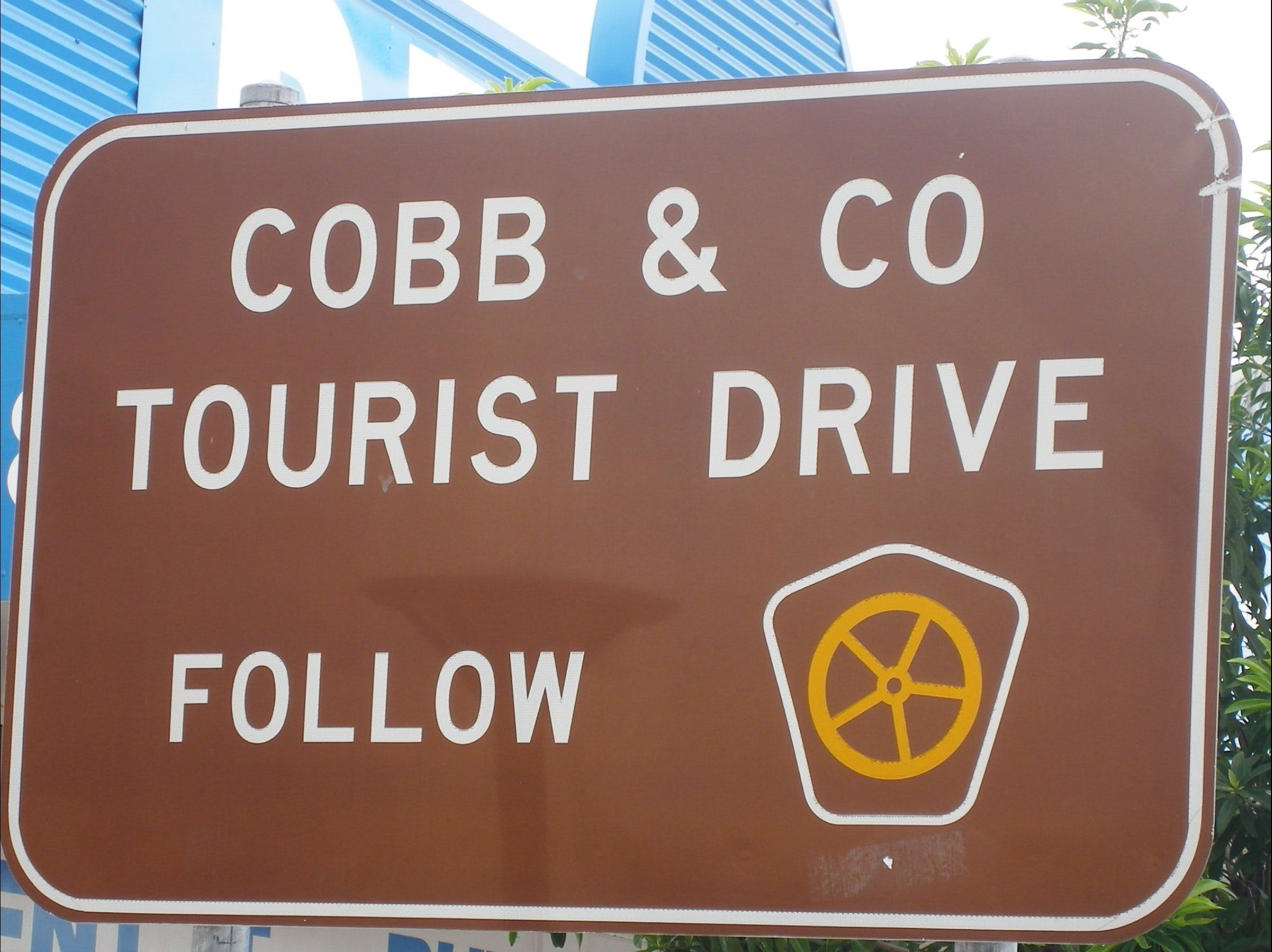 Cobb & Co Tourist Drive Logo and Images
