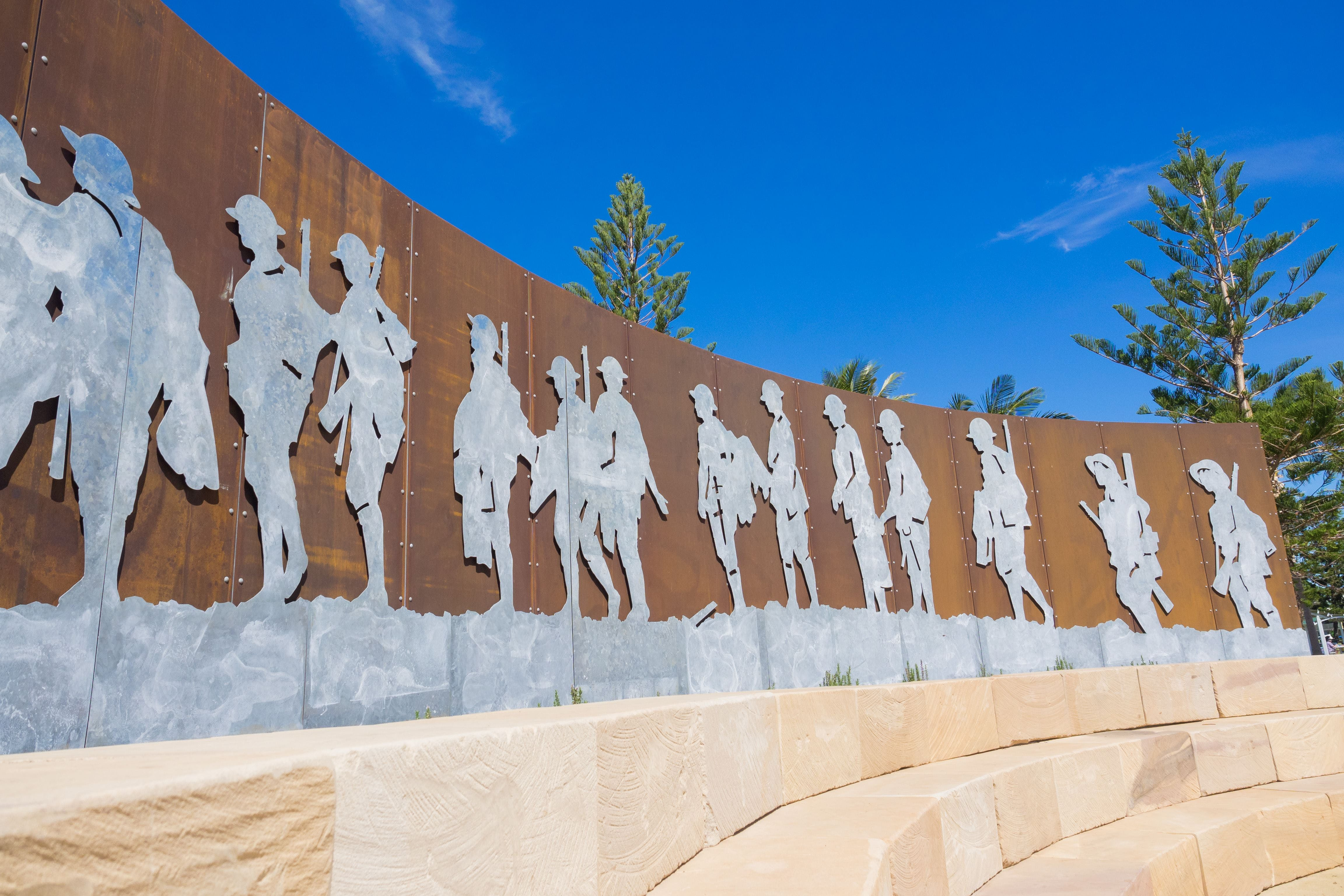 The Centenary of ANZAC Memorial Walk Logo and Images