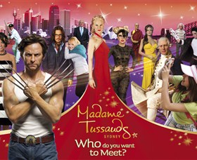 Madame Tussauds Sydney Logo and Images