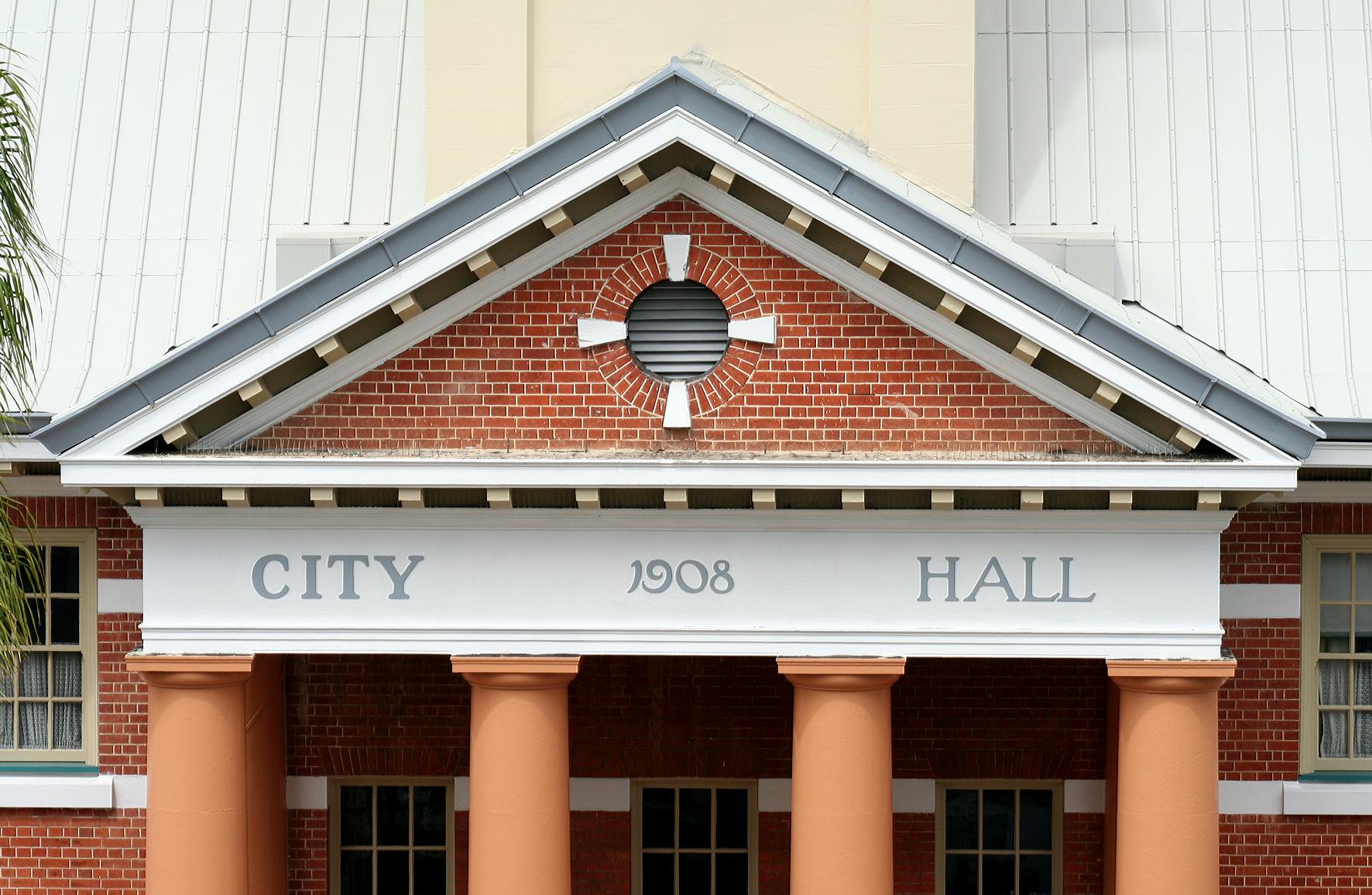 Maryborough City Hall Logo and Images