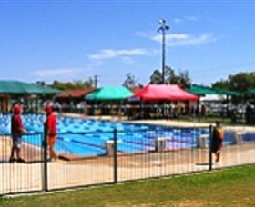 Charleville Swimming Pool Logo and Images