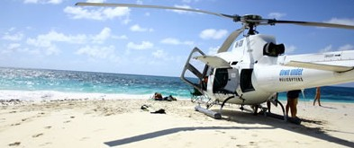 Heli Charters Australia Logo and Images