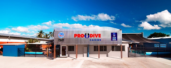 Pro Dive Cairns Logo and Images