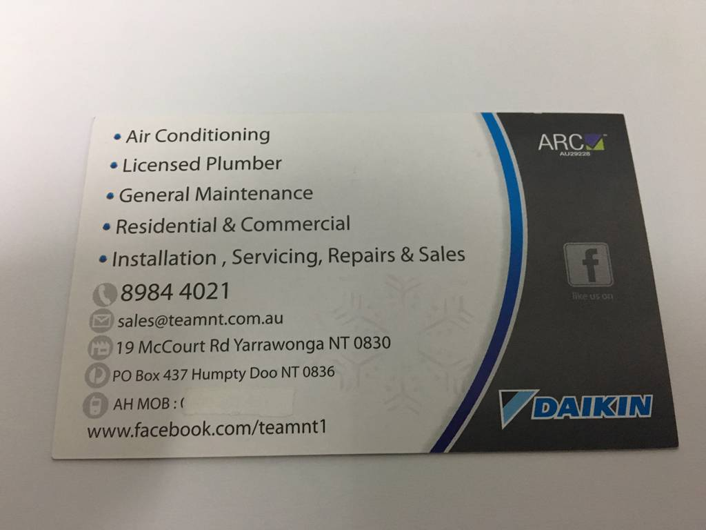 Top End Air Conditioning & Maintenance