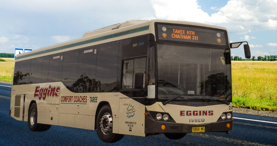Eggins Comfort Coaches